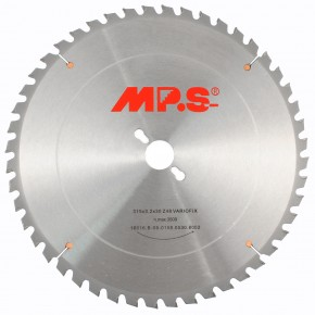 1 MPS HM bestücktes Handkreissägeblatt VarioFix, 48 Zähne, 315x3,2x30mm