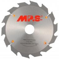 1 MPS HM bestücktes Handkreissägeblatt mit Reduzierung, 14 Zähne, 180x2,8x30mm