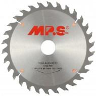 1 MPS HM bestücktes Handkreissägeblatt mit Reduzierung, 30 Zähne, 190x2,8x30mm