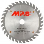 1 MPS HM bestücktes Handkreissägeblatt, mit Reduzierung, 34 Zähne, 160x2,8x20mm
