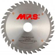 1 MPS HM bestücktes Handkreissägeblatt, mit Reduzierung, 34 Zähne, 170x2,8x30mm