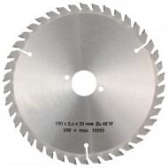 1 MPS HM bestücktes Handkreissägeblatt, mit Reduzierung, 42 Zähne, 190x2,8x30mm