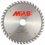 1 MPS HM bestücktes Handkreissägeblatt, mit Reduzierung, 42 Zähne, 210x2,8x30mm