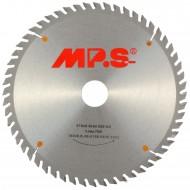 1 MPS HM bestücktes Handkreissägeblatt mit Reduzierung,, 56 Zähne, 210x2,8x30mm
