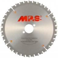1 MPS HM bestücktes Handkreissägeblatt FerroFix, 38 Zähne, 190x2,0x30mm