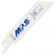 5 MPS Säbelsägeblätter für Metall S522BF für dünnes Metall 1,8/100mm