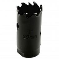 1 MPS Lochsäge - 25 mm Ø - Hartmetall - für Gipskarton & Holz geeignet