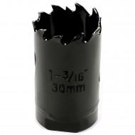 1 MPS Lochsäge - 30 mm Ø - Hartmetall - für Gipskarton & Holz geeignet