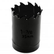 1 MPS Lochsäge - 35 mm Ø - Hartmetall - für Gipskarton & Holz geeignet