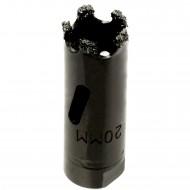 1 MPS Hartmetall- berieselte Lochsäge, für abrasive Materialien, 20 mm
