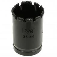 1 MPS Hartmetall- berieselte Lochsäge, für abrasive Materialien, 35 mm