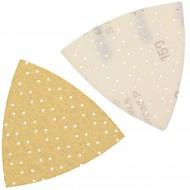 25 Dreieckschleifpapier Superpads P 93x93x93 mm P 150