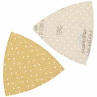 25 Dreieckschleifpapier Superpads P 93x93x93 mm P 180