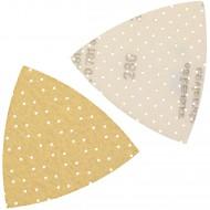 1 Dreieckschleifpapier Superpad P 93x93x93 mm P 280