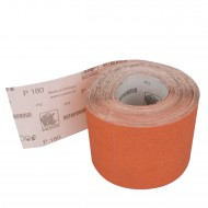 1 Rolle Schleifpapier P180, 115mm, 7,10m, rot