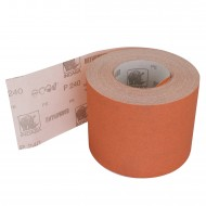 1 Rolle Schleifpapier P240, 115mm, 50m, rot