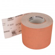 1 Rolle Schleifpapier P320, 115mm, 7,10m, rot