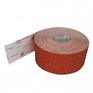 1 Rolle Schleifpapier P40, 115mm, 50m , rot