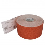 1 Rolle Schleifpapier P60, 115mm, 5m , rot