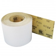 1 Rolle Schleifpapier Industrieware-weiß P220, 115mm,16,6m