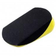 Handschleifblock mit Griffmulde für 125mm Ø Klettscheiben