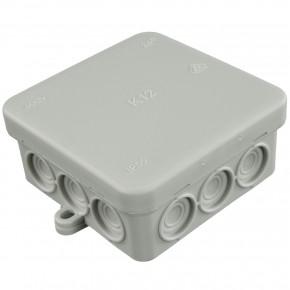 10 VDE-Aufputz Abzweigdosen, Verteilerdosen, PE, Feuchtraum, IP55, 85 x 85 mm