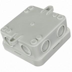 10 VDE-Aufputz Abzweigdosen, Verteilerdosen, PE, Feuchtraum, IP55, 75 x 75 mm