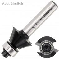 1 EDESSÖ Fasefräser 45° Winkel - Kugellager - 6mm Schaft,  28,6mm Ø - HW
