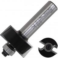 1 Falzfräser HW mit Kugellager zum Türen einlassen, 12 mm Schaft, 31,8 mm