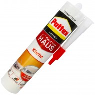 1 Kartusche Henkel Pattex Küche Silikon - transparent - 300 ml