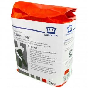 5 kg Krone Primofill, Q1-Q4, Gips Spachtelmasse für Gipsplatten und Renovierung