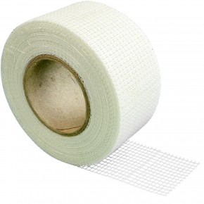 1 Rolle Glasfaser-Gitterstreifen, selbstklebend , Gitterband , 45 m , 50 mm breit