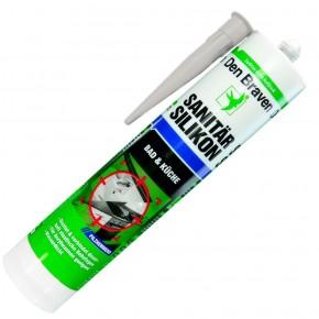 1 Kartusche Den Braven Sanitär-Silikon - manhattan - 300ml  - pilzhemmend