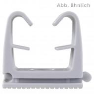 100 FISCHER Clipschellen FC 6 - 9 mm - Nylon - grau