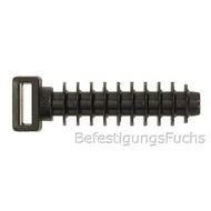 200 Nylon - Lamellennagel für Kabelbinder, 6x35 mm sw