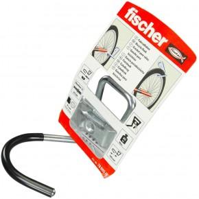 1 FISCHER System-Fahrradhaken-Set 100mm, inkl. Dübel und Schraube