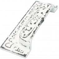 1 HSI Muschelgriff Orient Eisen weiß 94x38