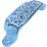 1 HSI Muschelgriff Orienteck Eisen blau 96x31