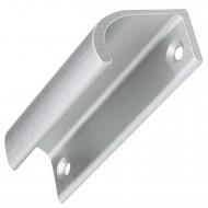 1 HSI Hebetürgriff Profil Aluminium silber 70x20mm