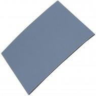 1 HSI Möbelgleiter 'Easy' - quadratisch selbstklebend flach - grau - 80x100mm