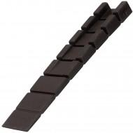4 HSI Möbelkeile - Kunststoff - braun - 100x20mm