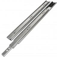 1 HSI Set Schubladenführungen - Kugel-Vollauszug mit Selbsteinzug 40kg - 500mm