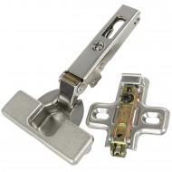1 HSI Topfband - mit Clip und Schnellmontage - für Außentür - vernickelt - 35mm