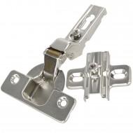 1 HSI Topfband - mit Feder - für Mitteltür - vernickelt - 35mm