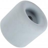 1 HSI Türstopper - festinstalliert - Gummi - grau - 33x40mm