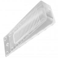 1 HSI Türkeil - Kunststoff - transparent - 100x35x15mm