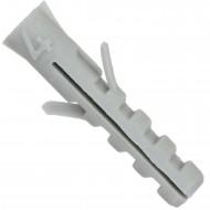 100 Flossendübel 4 mm ohne Kragen aus Nylon