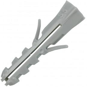 100 FISCHER Spreizdübel S 5x25 mm - Nylon - für Holz- und Spanplattenschrauben
