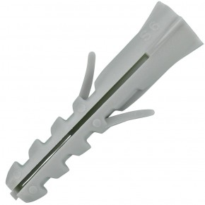 200 FISCHER Spreizdübel S 6x30 mm - Nylon - für Holz- und Spanplattenschrauben