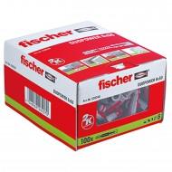 100 FISCHER DUOPOWER Nylon-Dübel - 6 x 50 mm